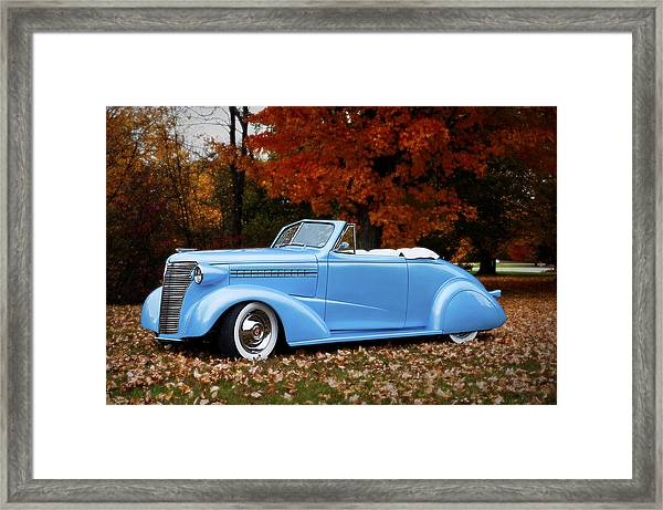 1938 Chevy Framed Print