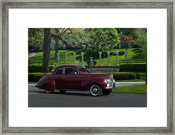 1940 Mercury Coupe Framed Print