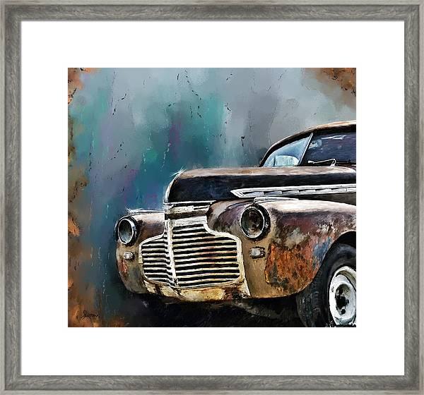 1941 Chevy Framed Print