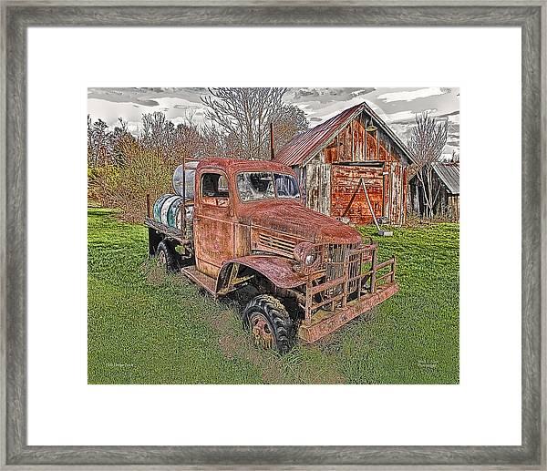 1941 Dodge Truck #2 Framed Print