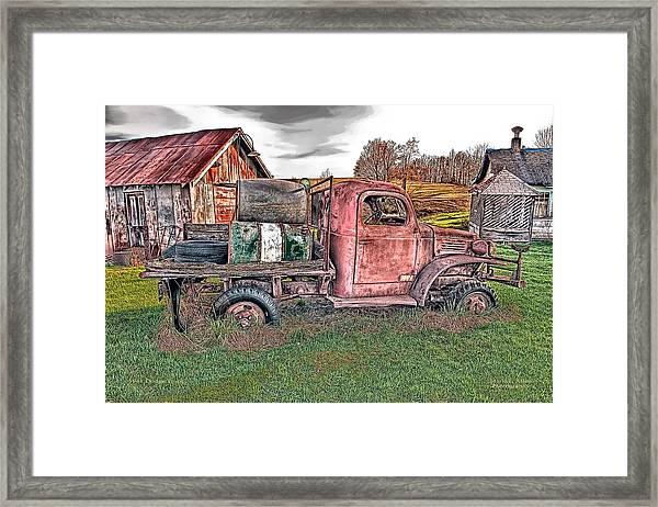 1941 Dodge Truck Framed Print