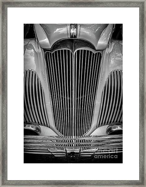 1941 Packard Convertible Framed Print