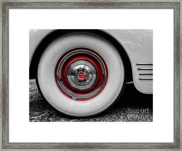 1941 Packard Convertible Wheels Framed Print
