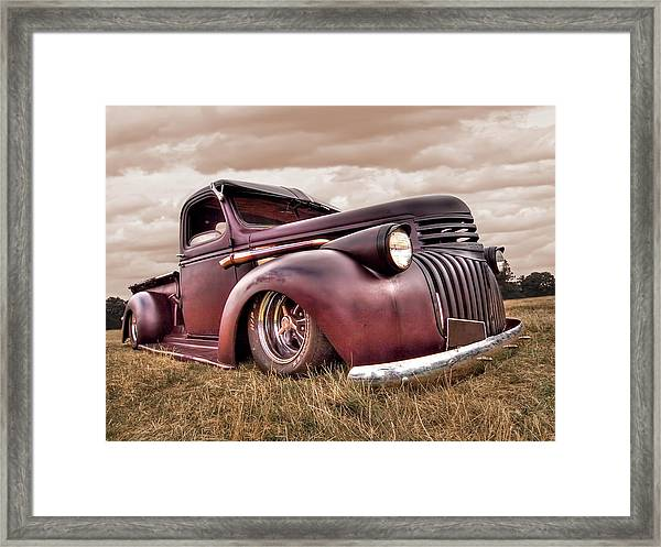 1941 Rusty Chevrolet Framed Print