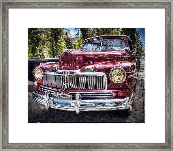 1948 Mercury Convertible Framed Print