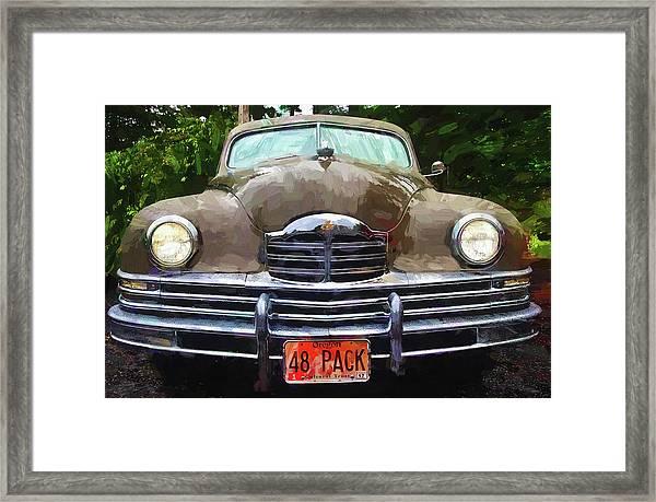 1948 Packard Super 8 Touring Sedan Framed Print