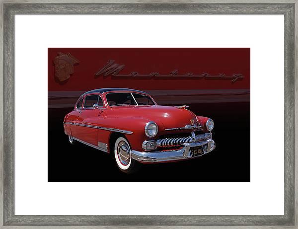 1950 Mercury Monterey Framed Print
