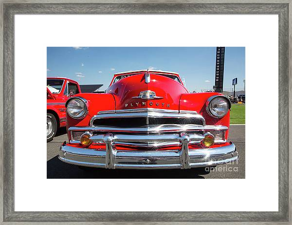 1950 Plymouth Automobile Framed Print