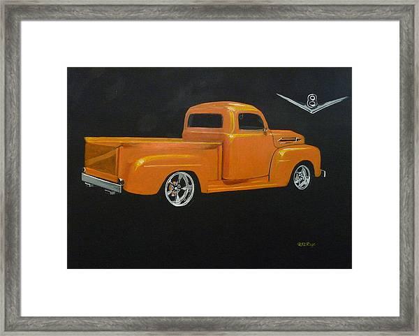 1952 Ford Pickup Custom Framed Print