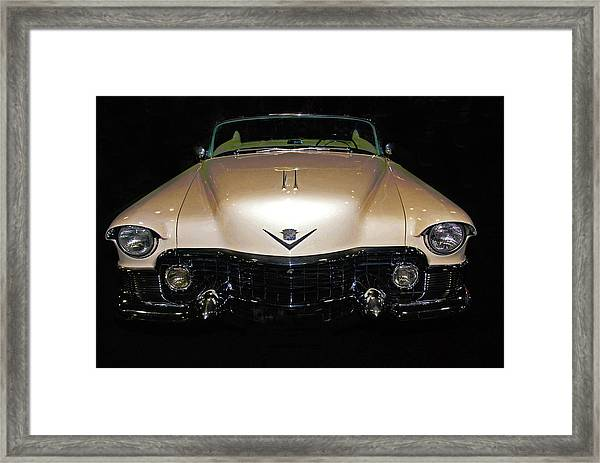 1953 Cadillac Le Mans Custom 2 Seat Convertible Framed Print