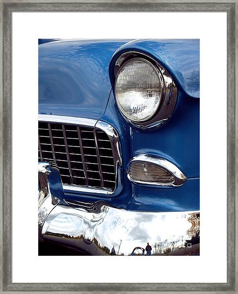 1955 Chevy Front End Framed Print