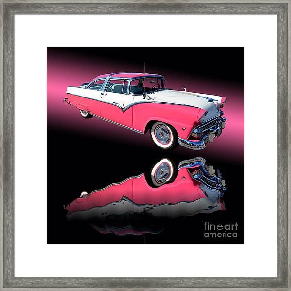1955 Ford Fairlane Crown Victoria Framed Print