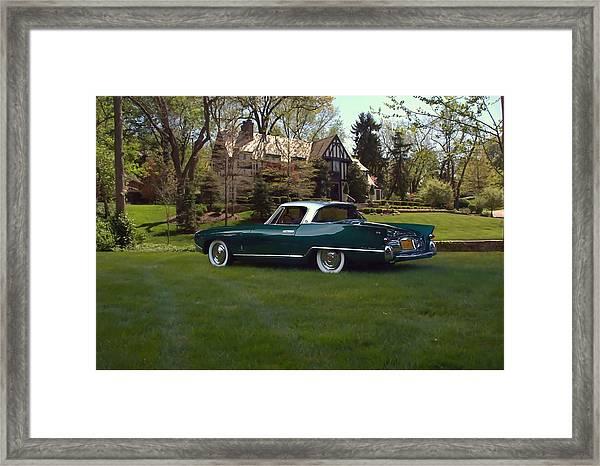 1956 Nash Rambler Palm Beach Coupe Framed Print