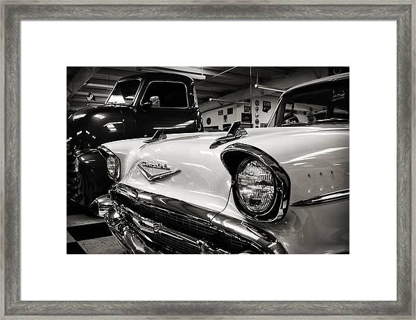 1957 Chevy Framed Print