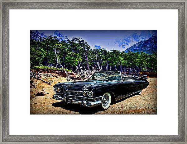 1959 Cadillac Eldorado Biarritz Convertible Framed Print