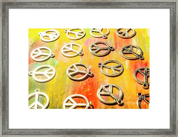 1960s Peace Movement Framed Print