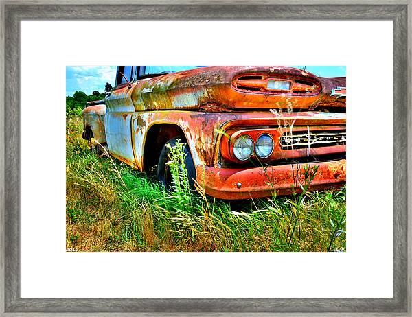 1961 Chevrolet Apache 10 5 Framed Print