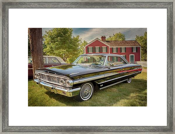 1964 Ford Galaxie 500 Xl Framed Print