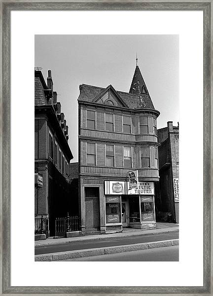 1965 Jack's Celtic Tavern Boston Framed Print