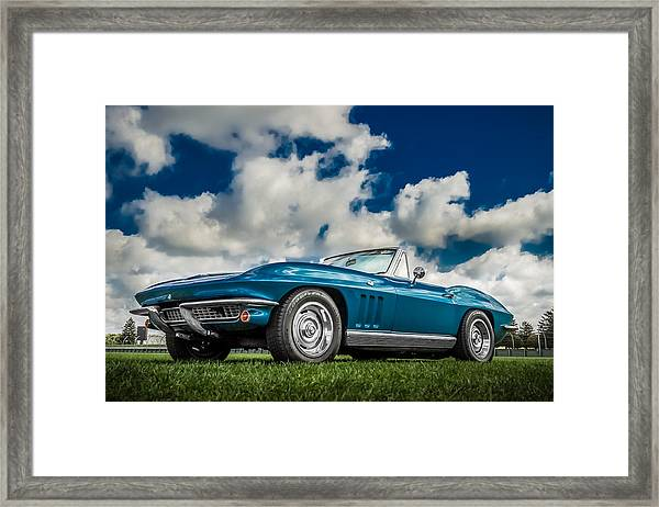1966 Corvette Stingray  Framed Print
