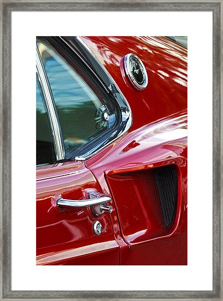 1969 Ford Mustang Mach 1 Side Scoop Framed Print