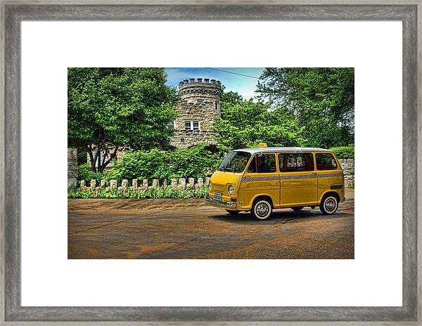 1969 Subaru Model 360 Taxi Framed Print