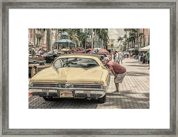 1973 Buick Riviera Framed Print