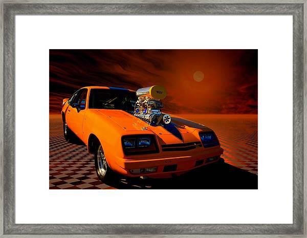 1977 Chevrolet Monza Dragster Framed Print