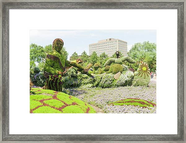 A Journey Through The Imaginary Of The First Nations 3 Framed Print