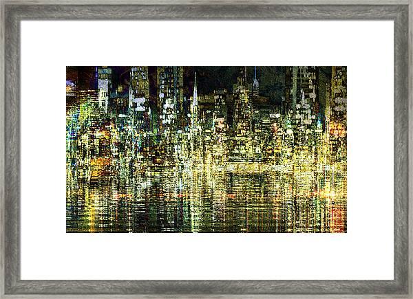 All That Glitters Framed Print
