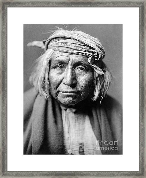 Apache Man, C1906 Framed Print
