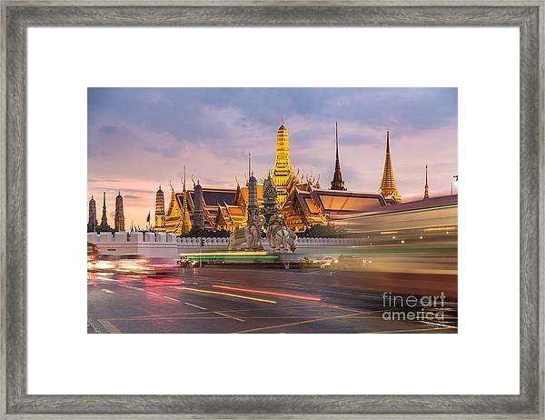 Bangkok Wat Phra Keaw Framed Print