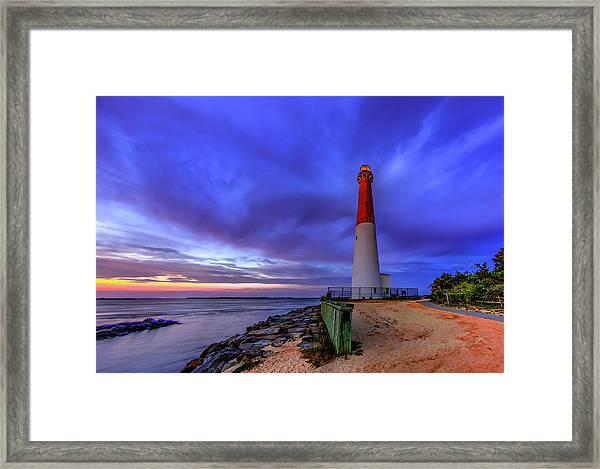 Barnegat Lighthouse Framed Print