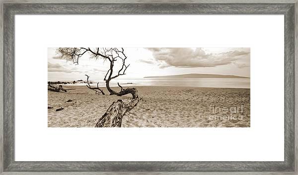 Big Beach Maui Hawaii Framed Print