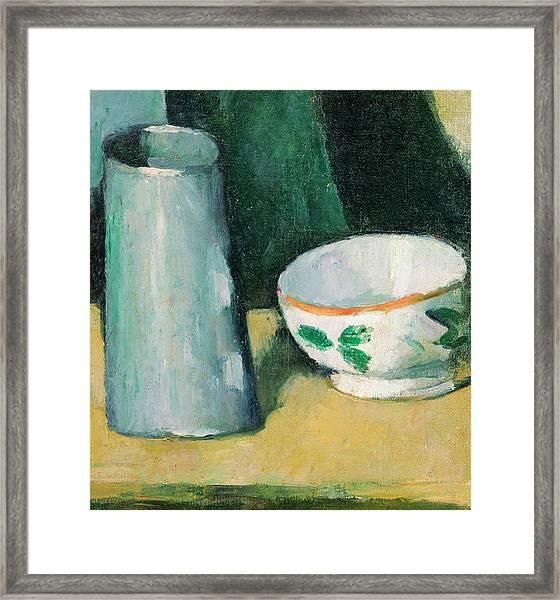 Bowl And Milk-jug Framed Print