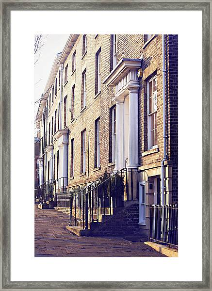Bury St Edmunds Buildings Framed Print