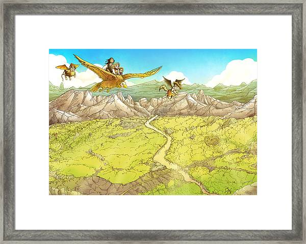 Chiricahua Mountains Framed Print