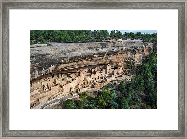 Cliff Palace Framed Print by Joseph Smith
