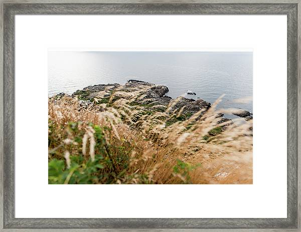 Cliffs At Kullaberg Framed Print