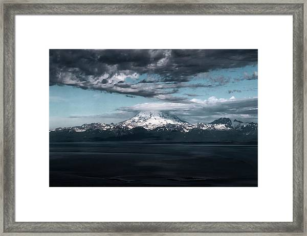Cold Morning On The Bay Framed Print