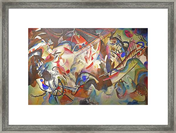 Composition Vi Framed Print by Wassily Kandinsky