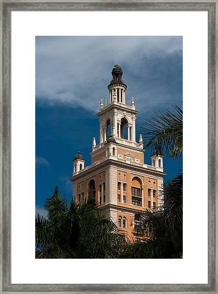 Coral Gables Biltmore Hotel Tower Framed Print