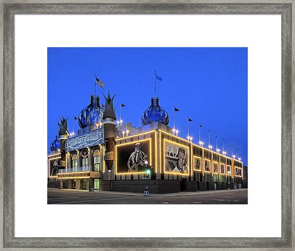 Corn Palace 2016 Framed Print