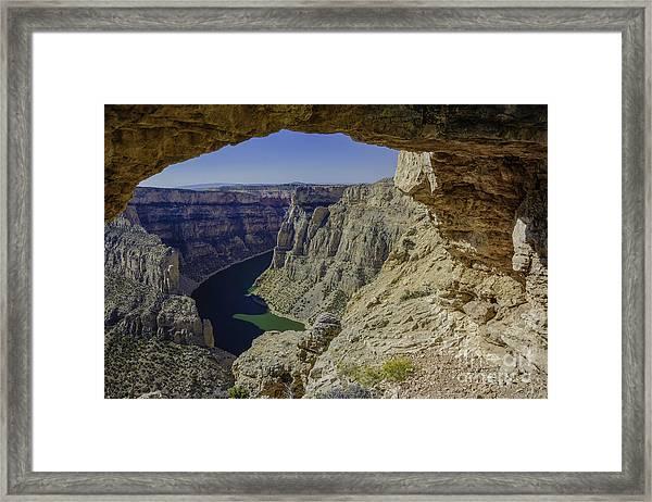 Devils Overlook Framed Print