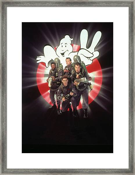 Ghostbusters II 1989  Framed Print