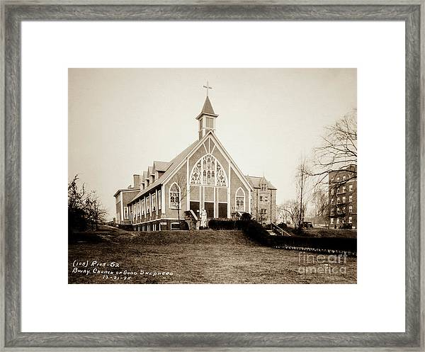 Good Shepherd Framed Print