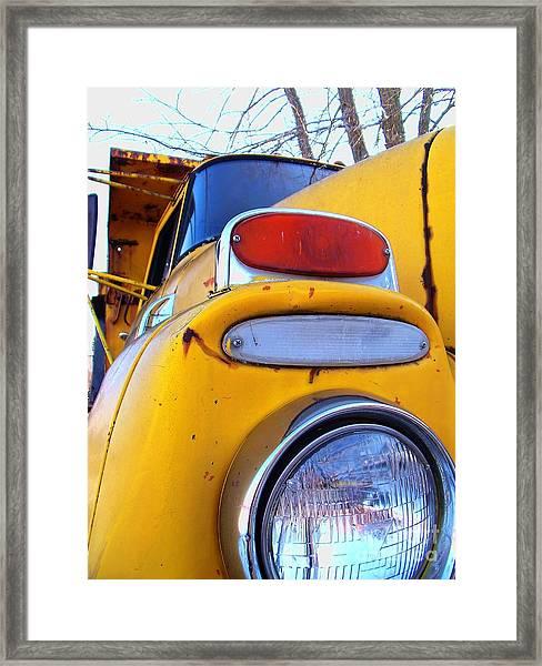Headlight Series Framed Print
