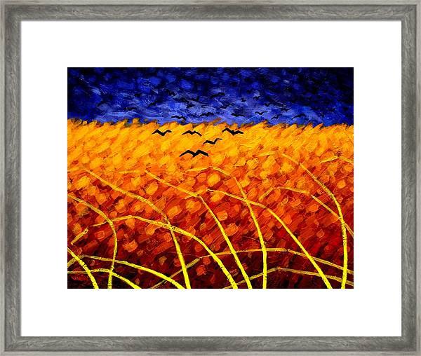 Homage To Van Gogh Framed Print
