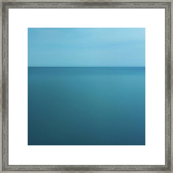 Lake Ontario - Abstarct Photography Framed Print