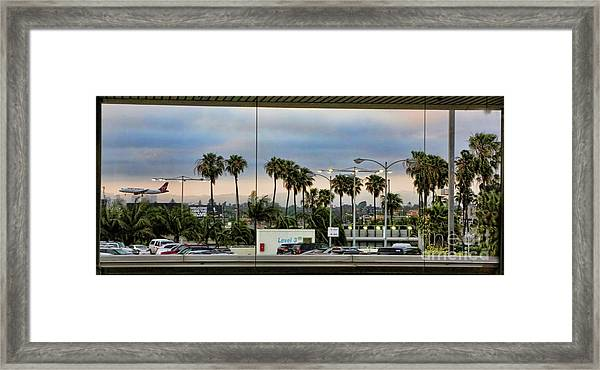 Lax Airport  Framed Print